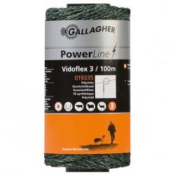 Cordon GALLAGHER VIDOFLEX 3 vert