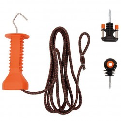 Kit porte avec cordon élastique