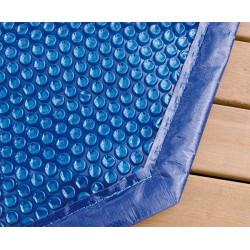Bâche solaire pour piscine bois
