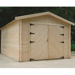 Garage en bois TRADITION