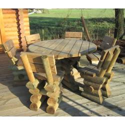 Table ardennaise - ronde 140cm