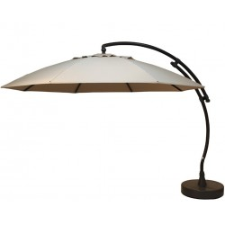 Parasol EASY SUN XL Olefin - Taupe clair