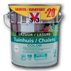 V33 Lasure CHALETS COLOR