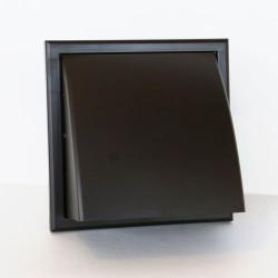 Bouche PVC brune avec clapet