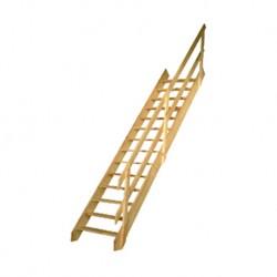 Rampe pour escalier de meunier