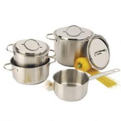Ensemble de cuisson 7 pièces inox RESTO DEMEYERE