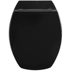 Siège WC ALLIBERT Baccara Noir