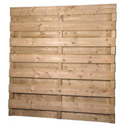 Ecran en bois droit AMBLY