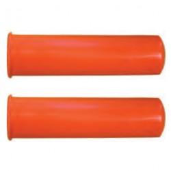 2 poignées PVC 30mm pour brouettes