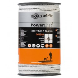Ruban GALLAGHER POWERLINE 12,5mm 100M