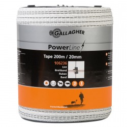 Ruban GALLAGHER POWERLINE 20mm