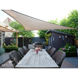 Toile d'ombrage triangulaire 360cm