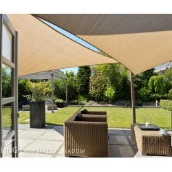 Toile d'ombrage triangulaire 570cm