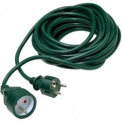 Rallonge PVC vert 10m