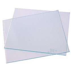 Verres transparents 108x50mm
