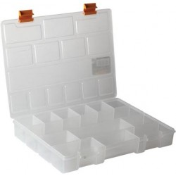 Boite 13 compartiments 28x20x4cm