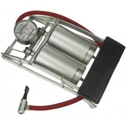 Pompe à pied double cylindre