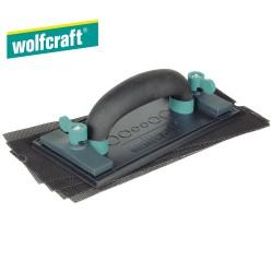 Set taloche à poncer le plâtre WOLFCRAFT