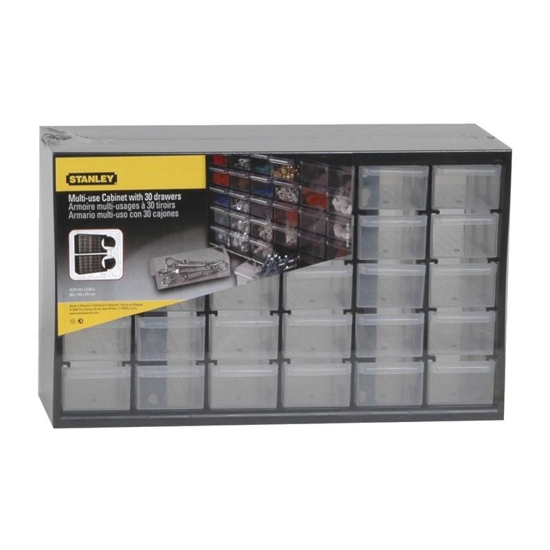 Armoire de rangement stanley 30 tiroirs - Compartiment rangement tiroir ...