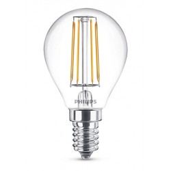 Ampoule boule PHILIPS LED Classic E14 ~40W