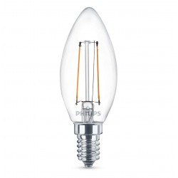 Ampoule flamme PHILIPS LED Classic E14 ~25W