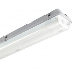 Réglette hermétique 2 tubes LED 60cm