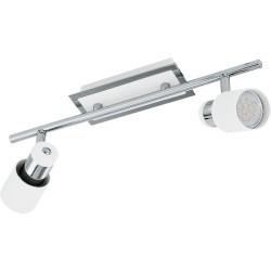 DAVIDA Barre 2 Spots LED - blanc
