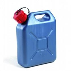 Jerrican à hydrocabures PVC bleu 5L