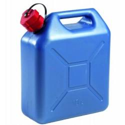 Jerrican à hydrocabures PVC bleu 10L