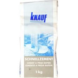 KNAUF Ciment à prise rapide - 1kg