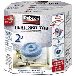 Pack 2 recharges RUBSON Aéro 360 - Neutre