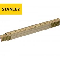 Double-mètre pliant en bois STANLEY