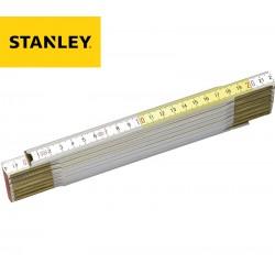 Double-mètre pliant bicolore STANLEY
