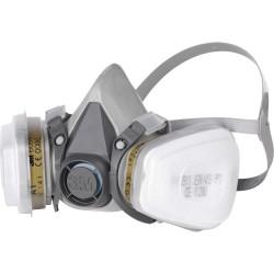 Demi-masque 3M avec filtres interchangeables