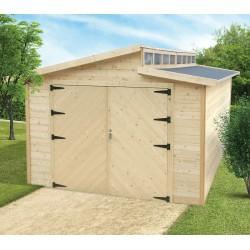 Garage en bois TORINO