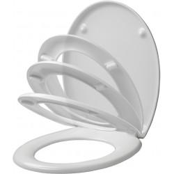Siège WC ALLIBERT Stability Blanc