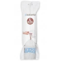 Sacs poubelle BRABANTIA (code L) 45L