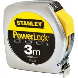 Mètre ruban STANLEY Powerlock 3M