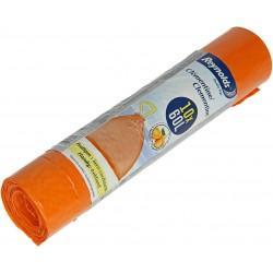 Sacs poubelle parfumés clementine 60L
