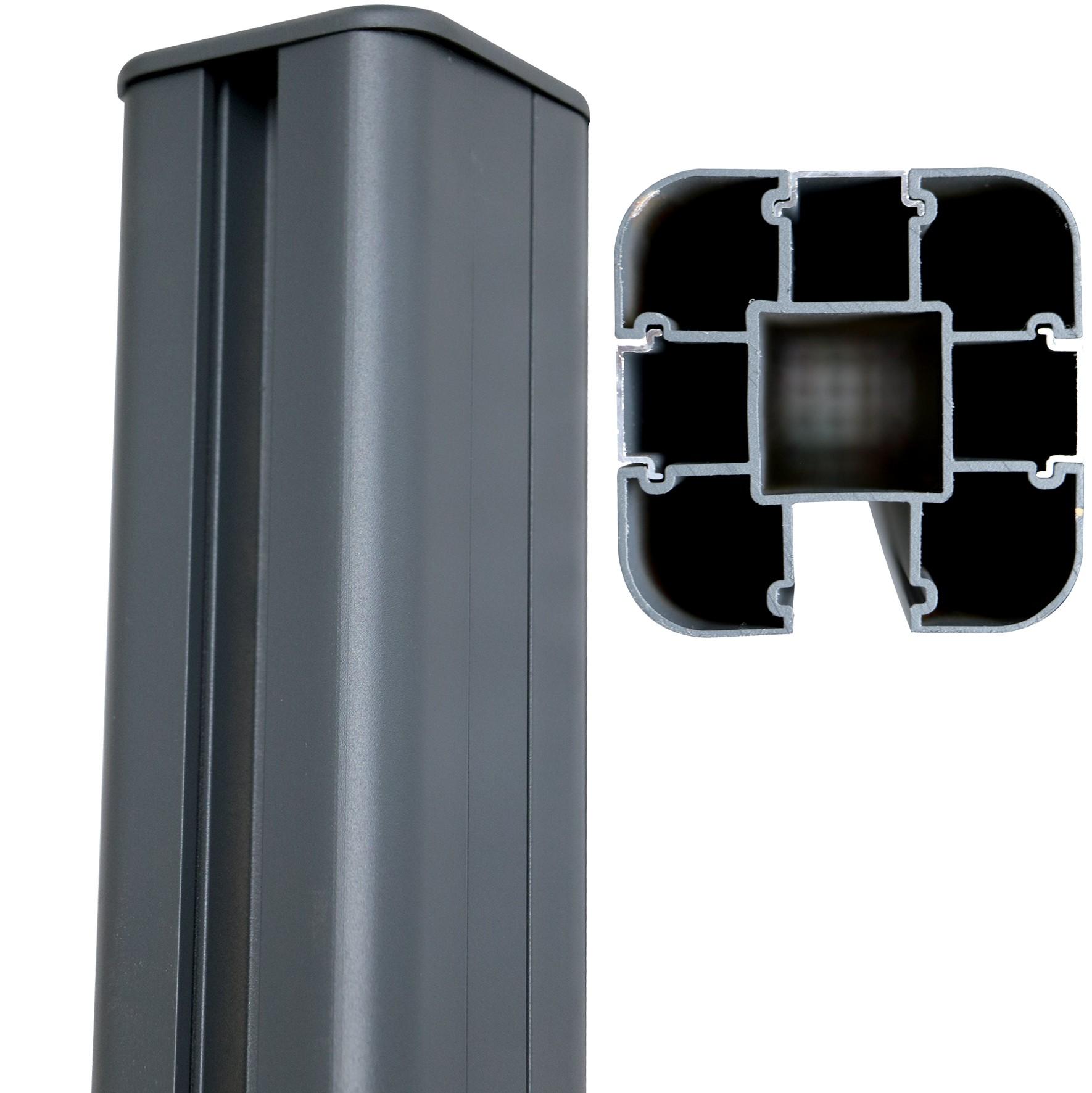 poteau alu pour pergola stunning poteau alu pour veranda cheap fabulous interesting pergola en. Black Bedroom Furniture Sets. Home Design Ideas