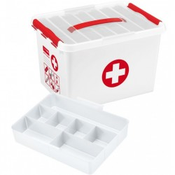 Boîte-pharmacie 'Premiers Soins' 22L
