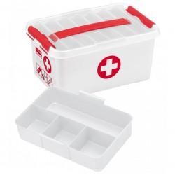 Boîte-pharmacie 'Premiers Soins' 6L