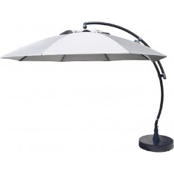 Parasol EASY SUN 375 Olefin - Gris clair