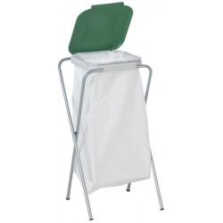 Support simple pour sac poubelle