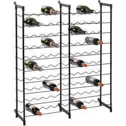 Etagère range-bouteilles 100 places