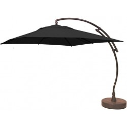 Parasol EASY SUN carré 320 Olefin - Carbone