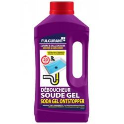 Déboucheur soude Gel FULGURANT 900ml