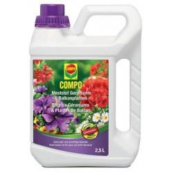 Engrais liquide Géraniums COMPO 2.5L