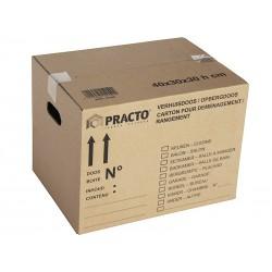Boîte de rangement en carton 36L