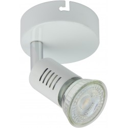 FOGGIA Spot simple LED blanc